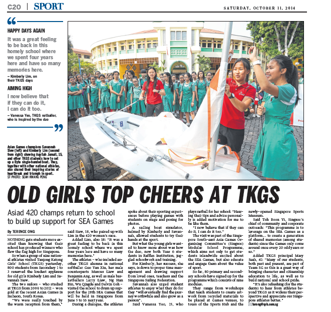 Old Girls Top Cheers at TKGS.png